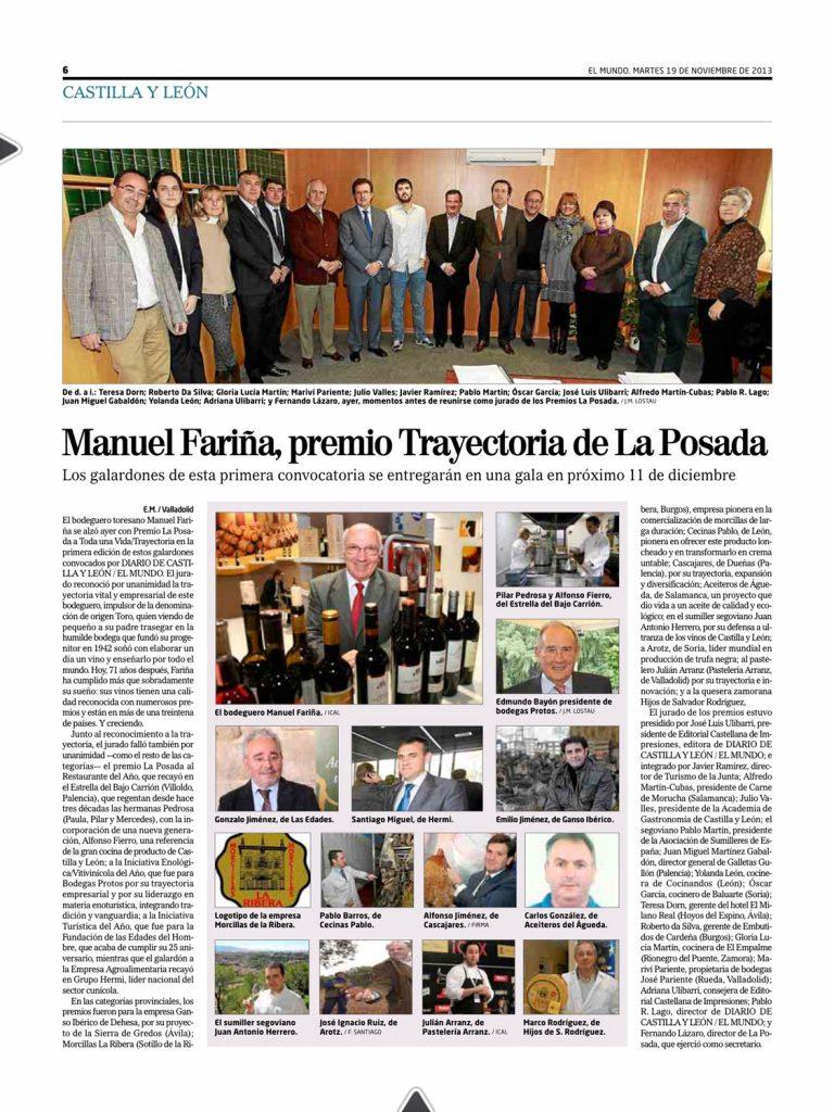 El medio de comunicación reconoce nuestro papel como pioneros en la comercialización de morcillas de larga duración desde la provincia de Burgos.